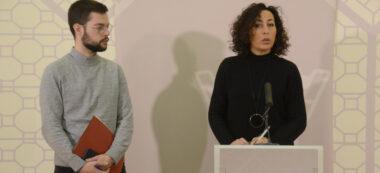 Eloi Cortés i Montse González