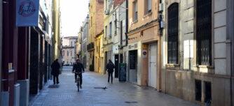 Carrer Sant Pere. Autor: David B.