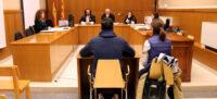 L'acusat de violar una noia tutelada declarant a la Secció 8a de l'Audiència Provincial de Barcelona el 14 de gener del 2020. (Horitzontal)