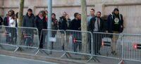 Pla general de l'arribada a l'Audiència de Barcelona dels tretze CDR acusats de desordres públics el 5 de febrer de 2020 (horitzontal)