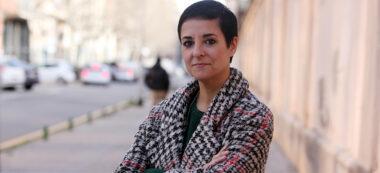 Pla mitjà de l'autora de 'Ca la Wenling', Gemma Ruiz, el 3 de febrer del 2020