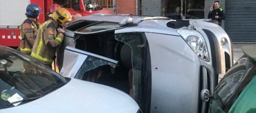 Accident a Gràcia