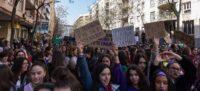 Foto portada: manifestació de la Vaga Feminista l'any 2019 a Sabadell. Autor: M.Tornel.