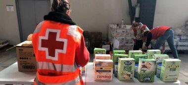 Foto portada: dispositiu de Creu Roja a Fira Sabadell. Autor: cedida.