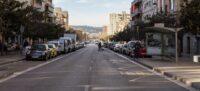 Així estan els carrers de Sabadell aquest Divendres Sant. Autor: David B.