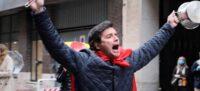 Foto portada: protesta al barri de Salamanca de Madrid.