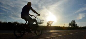 La carretera de Matadepera, o 'ruta del colesterol', un vespre de maig de 2020, en ple estat d'alarma pel coronavirus. Autor: David B.