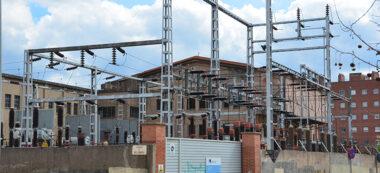 Foto portada: subestació elèctrica, fa uns mesos. Autor: David B.