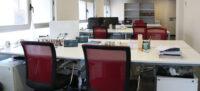 Sala principal del coworking Centric de Sabadell completament buit. Maig de 2020. Autor: ACN