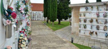 Foto portada: el cementiri de Sabadell, aquest 1 de juny, reobert per primer cop en dos mesos i mig. Autor: David B.