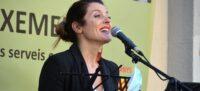 Foto portada: la soprano María Hinojosa, durant la seva actuació. Autor: David B.