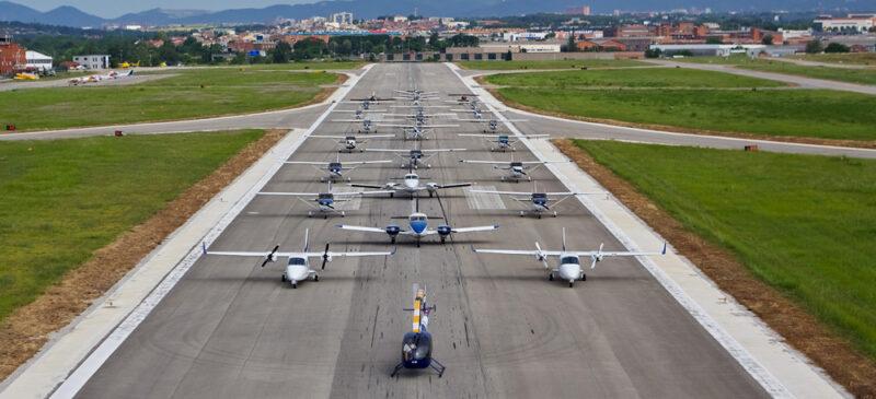 Aeroport de Sabadell. Autor: Cedida.
