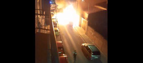 Foto portada: fotograma de l'incendi. Autor: cedida.