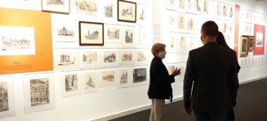 Foto portada: inauguració de l'exposició dedicada a Agustí Masvidal al Museu d'Art de Sabadell. Autor: Aj. Sabadell / cedida.