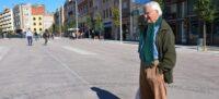 Borrell, al Passeig on s'havia de col·locar la pèrgola. Autor: David B.