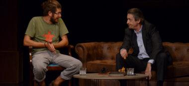 Foto portada:Jaume Madaula i Ramon Madaula, en un moment de ElsBrugarol. Autor: David B.