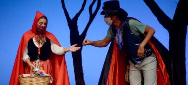 La Caputxeta Vermella al Teatre Sant Vicenç. Autor: David B.
