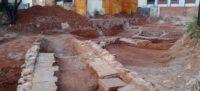Foto portada: les actuals excavacions entre el carrer de Pi i Margall i el carrer Major, a La Creu Alta. Autor: J.A.