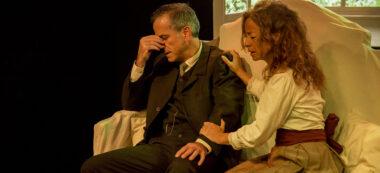 Xajo Gorina i Lídia Coll, en una de les escenes. Autor: Cedida.