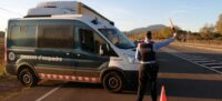 Foto portada: control dels Mossos d'Esquadra a la carretera de Matdepera. Autor: cedida.