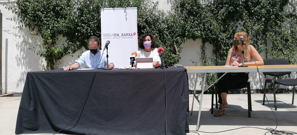 Presentació de l'adhesió de Sabadell en Xarxa a Clicccat.cat. Autor: Ana. M